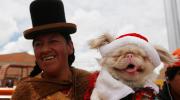 Festejos navideños y solidarios en Bolivia