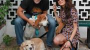 George Clooney adoptó otro perro de un refugio